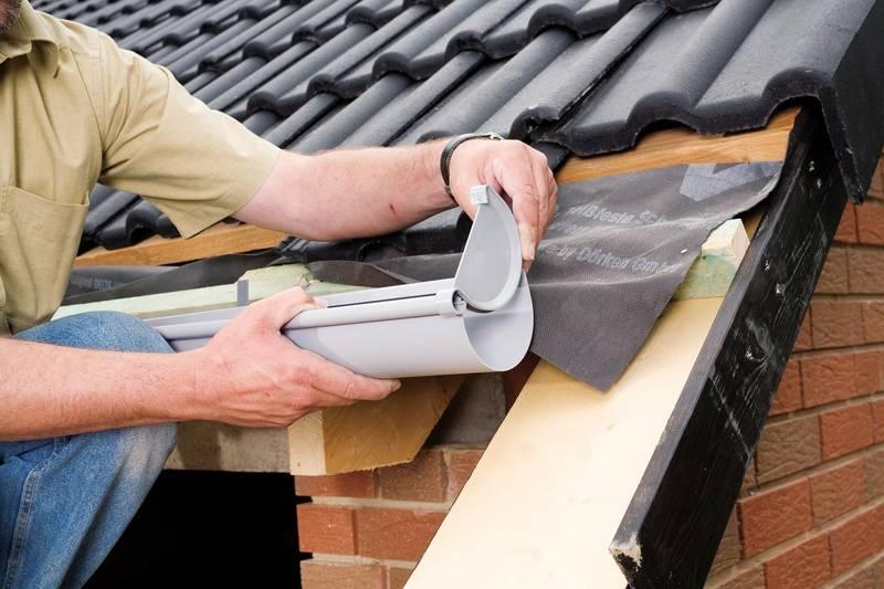 Как установить металлические отливы на крышу своими руками 54